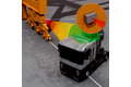 Collision avoidance in the path of a quay crane with radar sensors