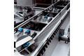 Flexible material flow monitoring