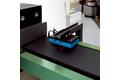 押出成形時のタイヤ材料の非接触速度測定
