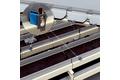 Leading edge detection on the conveyor belt