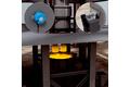 Reactor vessel position detection at Ruhrstahl-Heraeus degasser