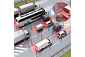 Automation light grids at toll stations