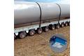 Steering angle detection on heavy trucks