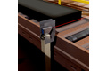 Proper orientation of goods on conveyor systems during post production logistics