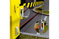 Collision protection at barriers