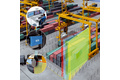 Hydraulic pressure measurement during material handling
