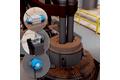 Контроль положения крышки ковшовой печи при внепечной обработке стали
