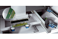 Printing screen positioning in soldering paste printers