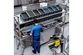 Monitoring all safety functions on a final assembly line