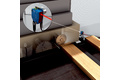 Fast board detection for wood alignment