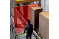 Safe material lock for standard palletizing tasks