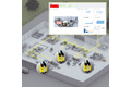 Real-time detection and analysis of safety systems in machines and systems