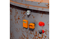 Fire detection in carbon silos