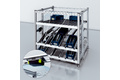 Automated material reorder with RFID at Kanban rack