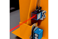 Positioning of the x and y axis of the driving and lifting unit