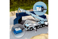 Inclination sensors for positioning tasks on the mobile crane