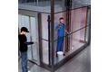 Защита ниш между шахтой и кабиной лифта