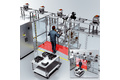 Sichere Mensch-Roboter-Kooperation in der Endmontage von Elektromotoren