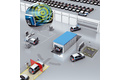 Vehicle track and trace in the production and distribution process