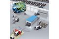 Track-and-trace von Fahrzeugen im Produktions- und Distributionsprozess