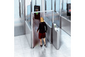 Controlling the flow of people at automated boarding gates