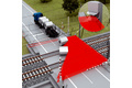 All-clear signal at railroad crossings