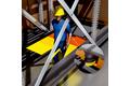 Schutz des Bedienpersonals und Kollisionsvermeidung am Palettenshuttle