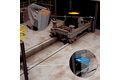 Ladle presence detection of ladle car at electric arc furnace