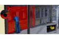 Protecting adjustable facade windows