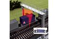 Measurement of the train profile