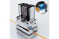 Optische spoorgeleiding: eenvoudige inbedrijfname en onderhoud