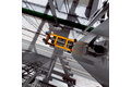 Collision avoidance for rail-mounted gantry cranes
