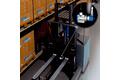 Mesure des mouvements verticaux et horizontaux de la fourche d'un chariot élévateur