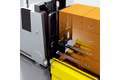 Goods identification with RFID on automated guided vehicles (AGV) for complete material flow traceability