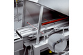 Detection of the product at the meat slicer infeed