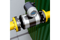 Biogas flow