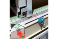 Detection of tamper evident labels