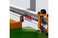 Линейное позиционирование на электрическом подвесном конвейере