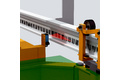 Linearpositionierung in Elektrohängebahn