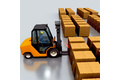 Bar code goods identification in varying load carriers