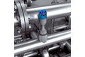 Pressure measurement at the heat exchanger of a CIP system