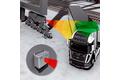 Kollisionsafværgelse med radar på en kajkrans kørestrækning