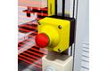 Hazardous point protection at small presses