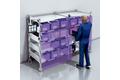 2D-LiDAR-based shelf monitoring at the smart shelf