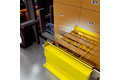 Complete tracking of the material flow by means of an RFID sensor integrated into the manned forklift truck