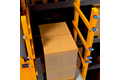 Verifying the loading height on the load-carrying equipment