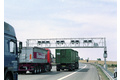 Classifying trucks in multi-lane free-flow operation for toll collection