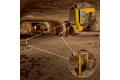 Защита доступа к участкам с мобильными рабочими машинами в подземных горных выработках