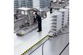 Montagelinien: Anlieferung von Materialien und Personenschutz