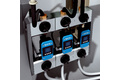 Flow measurement in the cooling circuits of extrusion lines